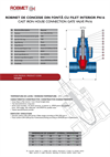 PN 16 - Cast Iron House Connection Gate Valve - Technical Specifications