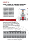 PN 25 - Stainless Steel Gate Valve With Rising Stem - Technical Specifications