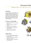 Model ASX-400 24V / 50A - Flameproof Alternator Brochure