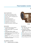 Model B - 3-Way Thermostatic Temperature Control Valve Brochure