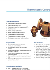 Model C - 3-Way Thermostatic Temperature Control Valve Brochure