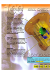 Model 100 Series - Ball Check Valve Brochure
