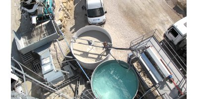 CWR  - Concrete Water Recycling System