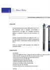 Submersible Electric Pumps- Brochure