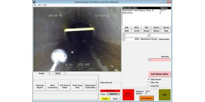 Portable Video Capture Software for Push Camera, Well, Manhole, and Jet Inspection