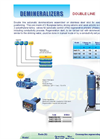 ouble Line Automatic Demineralizers Datasheet