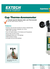 Cup Thermo-Anemometer AN400 Datasheet