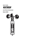 Cup Thermo-Anemometer AN400 User Manual