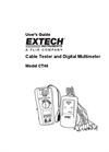 Cable Identifier/Tester Kit CT40 User Manual