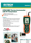 HD300 - CFM/CMM Thermo-Anemometer with built-in InfaRed Thermometer Data Sheet