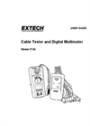 Cable Tester and Digital Multimeter Model CT40 - Manual