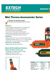 Extech - Model 45118 - Mini Thermo-Anemometer Brochure