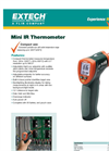 Extech - Model 42510A - Wide Range Mini IR Thermometer - Datasheet