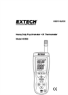 Extech - Model HD500 - Psychrometer with InfraRed Thermometer - Manual