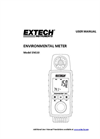 Extech - Model EN510 - Convenient 10-in-1 Environmental Meter - Manual