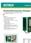 Extech - Model SD800 - CO2, Humidity and Temperature Datalogger - Datasheet