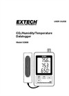 Extech - Model SD800 - CO2, Humidity and Temperature Datalogger - Manual