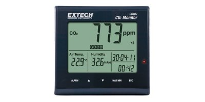 Extech  - Model CO100 - Desktop Indoor Air Quality CO2 Monitor