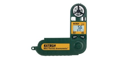Extech - Model 45158 - Mini Thermo-Anemometer with Humidity