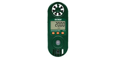 Model EN150 - Compact Hygro-Thermo-Anemometer with UV Light Sensor