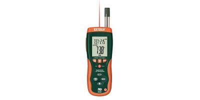 Extech - Model HD500 - Psychrometer with InfraRed Thermometer
