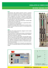 Model RO/D - Reverse Osmosis System - Brochure