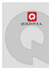 Quilton - Model GRP - Glass-Fibre Reinforced Polyester Resin Cover Brochure