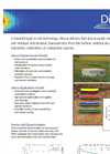 VistaClara - Version Discus - Software of Soil Moisture - Brochure