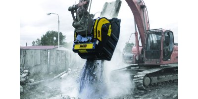 Jaw bucket crushers for demolition work