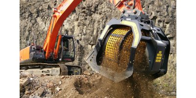 Jaw bucket crushers for quarries and mines