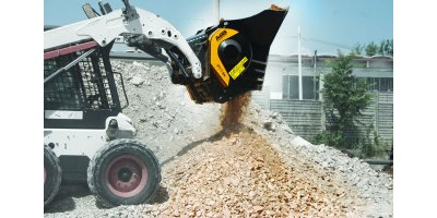 Jaw bucket crushers for recycling industry