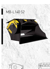MB-L140 S2 Crusher Bucket - Brochure