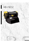 MB-C50 S2 Crusher Bucket - Brochure