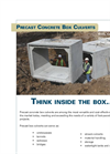Box & 3-Sided Culverts Brochure