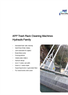 API Hydraulic Trash Rack Cleaning Machines Brochure