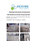 Packing instruction & Inspection