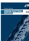 Uniram Heavywall Dripline Brochure