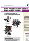 Low Pressure Automatic Disc-Kleen Filters - Brochure