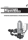 Netafim - 2 Compact - Low Pressure Automatic Disc-Kleen Filters - Manual
