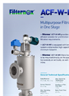 Filternox ACF-W-MR Multipurpose Filters Brochure