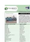 Powerkrush - Model 1000WTS - Transfer Station Brochure