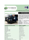 Portakrush - Model 500 - Portable Compactor Brochure
