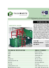 Powerkube Plus - Waste Handling Horizontal Baler Brochure