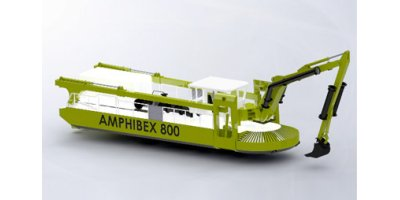 Amphibex - Model 800 - Excavator System for Shore Lines and Marine Environments