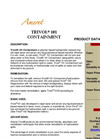 Trivol Model 101 Polymer Based Hydrophobic Containment Material Product Data Sheet