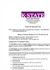 KState Detection of Potential Pathogeus in Trivol 101 and Trivol 102 Brochure