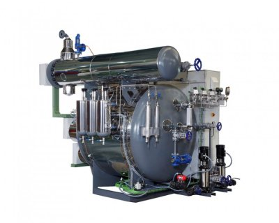 ATTSU manufactures a superheated steam electric boiler of 1 Tn/h.