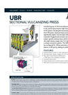 Model UBR - Sectional Vulcanizing Press Datasheet