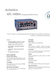 Aeroflex - Model 1400A - Transponder/DME Bench Test Set Datasheet