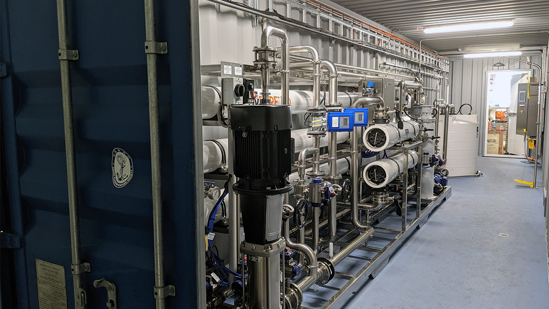 Hydroflux - Model HyPURE - Brackish Water Reverse Osmosis Systems